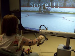 Robot-assisted activities for arm rehabilitation